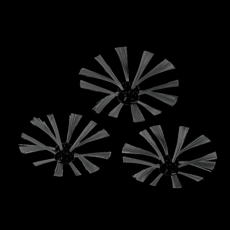 Brosses latérales rotatives pour Spinwave Robot