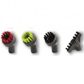 Lot de 4 brosses pour Bissell SteamShot