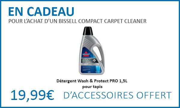 Cadeaux pour l'achat d'un Bissell Compact Carpet Cleaner