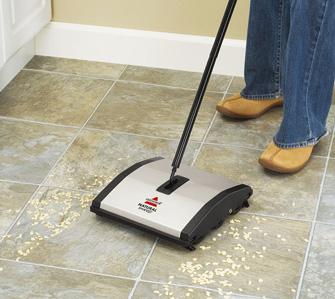 Bissell balais Natural Sweep en action 2