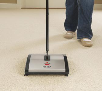 Bissell balais Natural Sweep en action 3