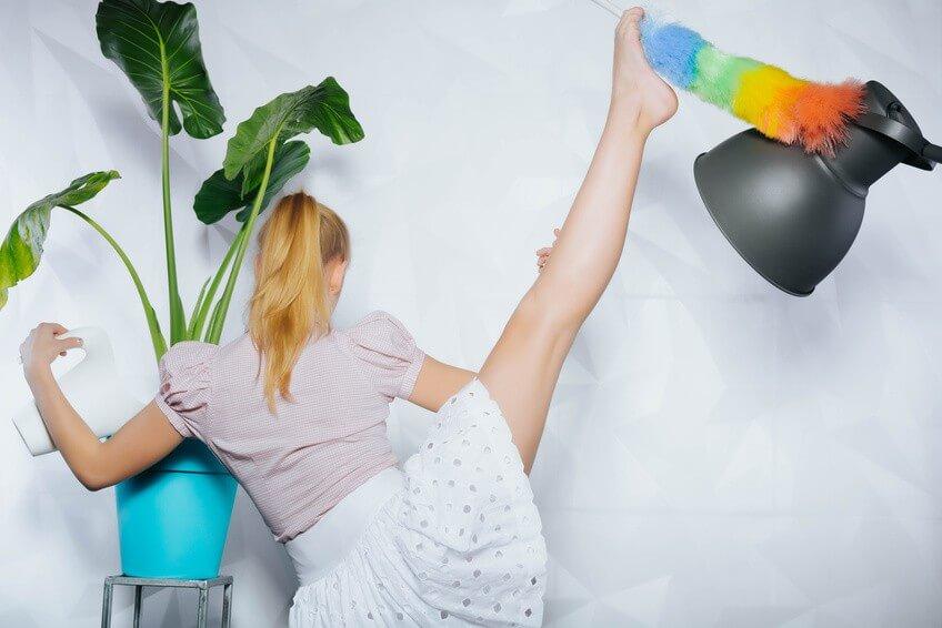 Nos 3 exercices pour conjuguer sport et ménage!