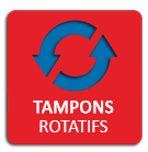 Tampons rotatif
